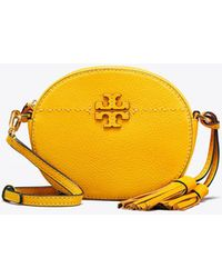Tory Burch - Mcgraw Round Cross-body - Lyst