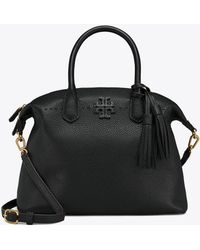 Tory Burch - Mcgraw Slouchy Leather Satchel - - Lyst