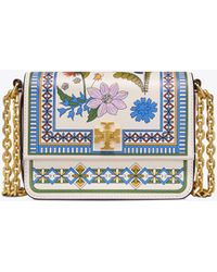 Tory Burch - Kira Floral Mini Shoulder Bag - Lyst