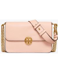 7e9c92e96770 Tory Burch Fleming Convertible Quilted Leather Box Crossbody Bag in ...