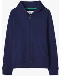 Tory Burch - French Terry Zip Hoodie - Lyst