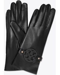 Tory Burch - Miller Leather Gloves - Lyst
