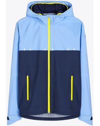 Tory Sport - Color-block Shell Hooded Jacket - Lyst