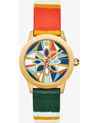 Tory Burch - Gigi Watch, Gold/multi-tone, 36mm - Lyst