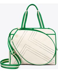 Tory Sport - Tory Burch Convertible Perforated-t Tennis Tote - Lyst