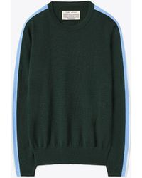 Tory Burch - Performance Cashmere Double-stripe Sweater - Lyst