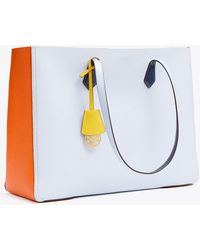 Tory Burch - Perry Color-block Large Tote | 412 | Totes - Lyst