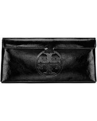 Tory Burch - Miller Patent Leather Clutch Bag - Lyst