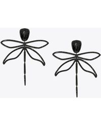 Tory Burch - Embellished Articulated Dragonfly Earring - Lyst