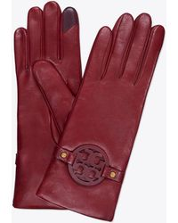 Tory Burch - Miller Leather Glove - Lyst