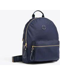Tory Burch - Tilda Nylon Zip Backpack | 001 | Backpacks - Lyst