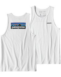 Patagonia - P-6 Logo Responsibili-tee® Tank - Lyst