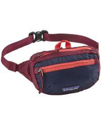 Patagonia - Lightweight Travel Mini Hip Pack 1l - Lyst