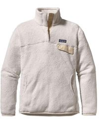 Patagonia - Re-tool Snap-t Fleece Pullover - Lyst