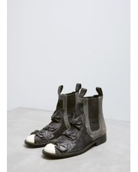 Comme des Garçons - Black Bow Detail Chelsea Boot - Lyst