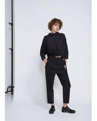 Ji Oh - Cinched Waist Drawstring Shirt - Lyst