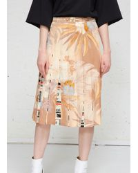 Maison Margiela - Pleated Skirt - Lyst