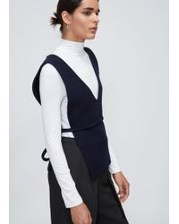 Priory Of Ten Navy Bib Vest