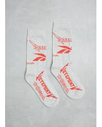 Vetements - Metal Socks - Lyst