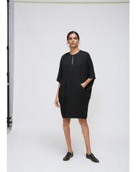 Zero + Maria Cornejo   Black Bea Dress   Lyst