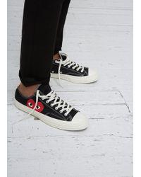 Play Comme des Garçons | Play Converse Chuck Taylor Low-top Sneaker | Lyst