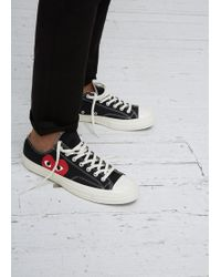 Play Comme des Garçons | Play Converse Chuck Taylor Low-top Trainer | Lyst