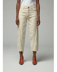Lanvin Denim Trousers - Natural