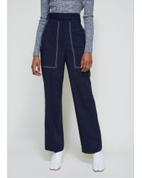 Ports 1961 - Wide Long Trousers - Lyst