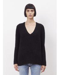 CALVIN KLEIN 205W39NYC - Black Corella Sweater - Lyst
