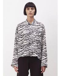 Toga Pulla - Black / White Inner Shirt - Lyst