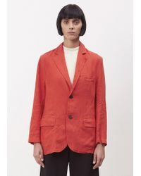 69 - Red Suit Vest - Lyst