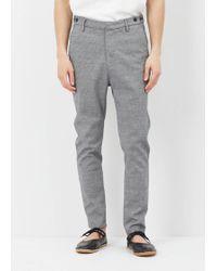 Journal - Storm Grey Fine Waffle Pants - Lyst