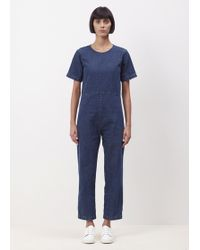 Ilana Kohn - Denim Lee Jumpsuit - Lyst