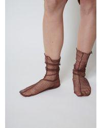 Rachel Comey - Brown Hynde Tulle Socks - Lyst