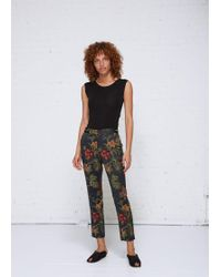 Rosetta Getty - Cropped Skinny Trouser - Lyst