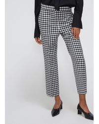 Ports 1961 - Check Trousers - Lyst