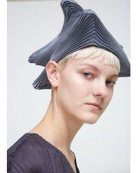 Issey Miyake   Triangle Pleat Hat   Lyst