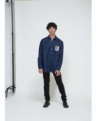 Raf Simons - Rs Denim Shirt - Lyst