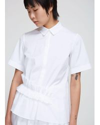 Lanvin - Short Sleeve Shirt - Lyst