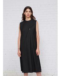 Hyke - Sleeveless Dress - Lyst