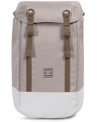Herschel Supply Co. - Light Khaki Crosshatch Iona Backpack - Lyst