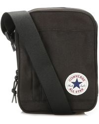 Hot Converse - Black Cross Body Bag - Lyst 5dcadb635f642