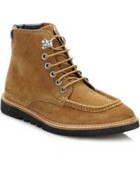 Kickers - Mens Tan Kwamie Boots - Lyst