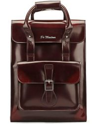 Dr. Martens - Dr. Martens Cherry Red Vegan Small Backpack - Lyst
