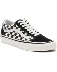 Vans Anaheim Factory Old Skool 36 Dx Black Checkerboard Sneakers
