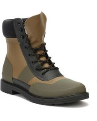 HUNTER - Mens Khaki Original Commando Boots - Lyst