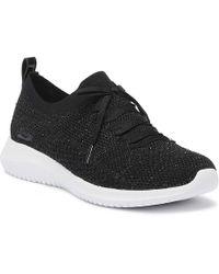 Skechers - Ultra Flex Strolling Out Womens Black Sneakers - Lyst