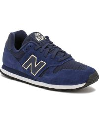 new balance 373 womens navy pink
