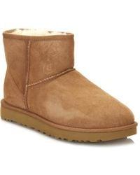 UGG - Classic Mini Ii Chestnut Boots - Lyst