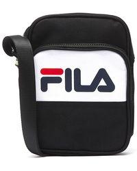d3307d1d74 Fila - Rufus Black / White Bag - Lyst